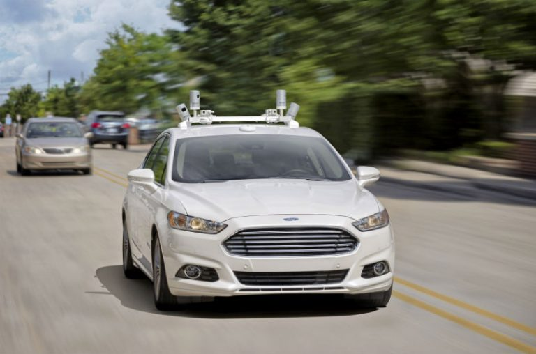 Ford autonomous ride sharing