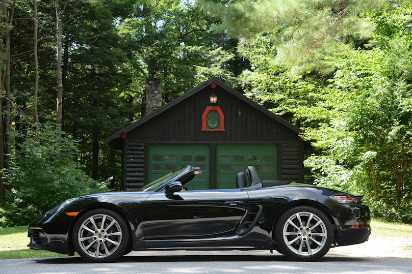 Trip To The World S Largest Log Cabin In The 2017 Porsche 718 Boxster Wheels Ca