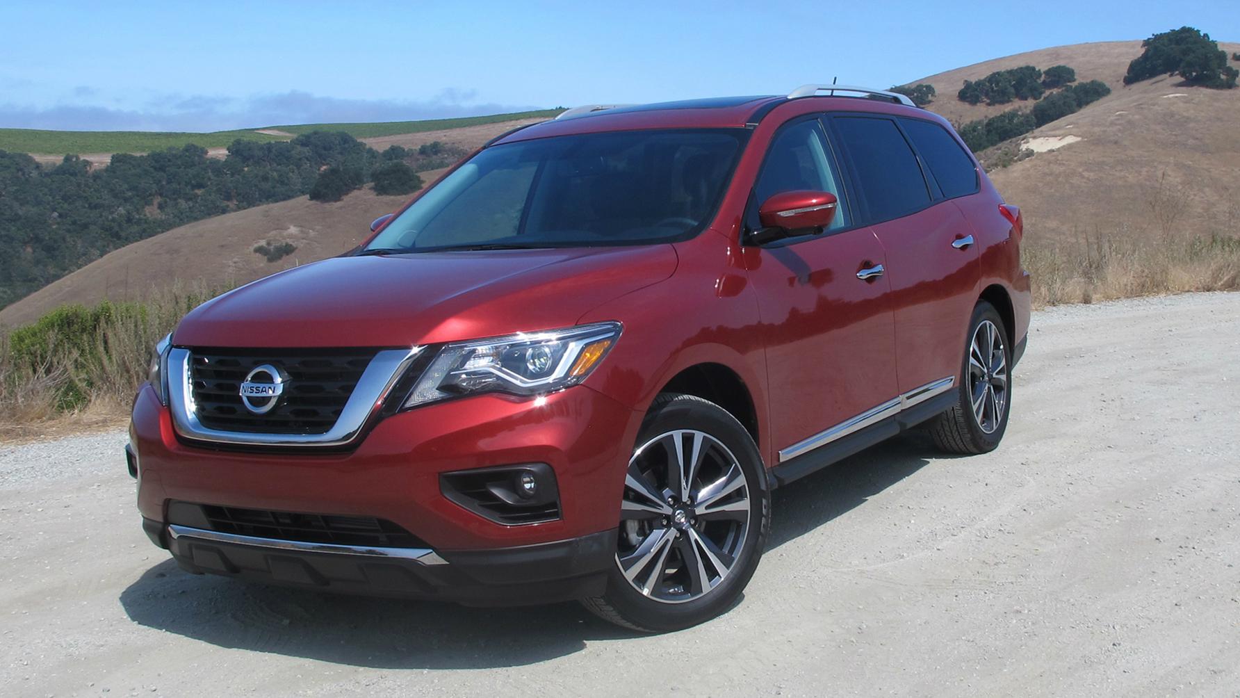 Nissan Pathfinder 2017 pricing