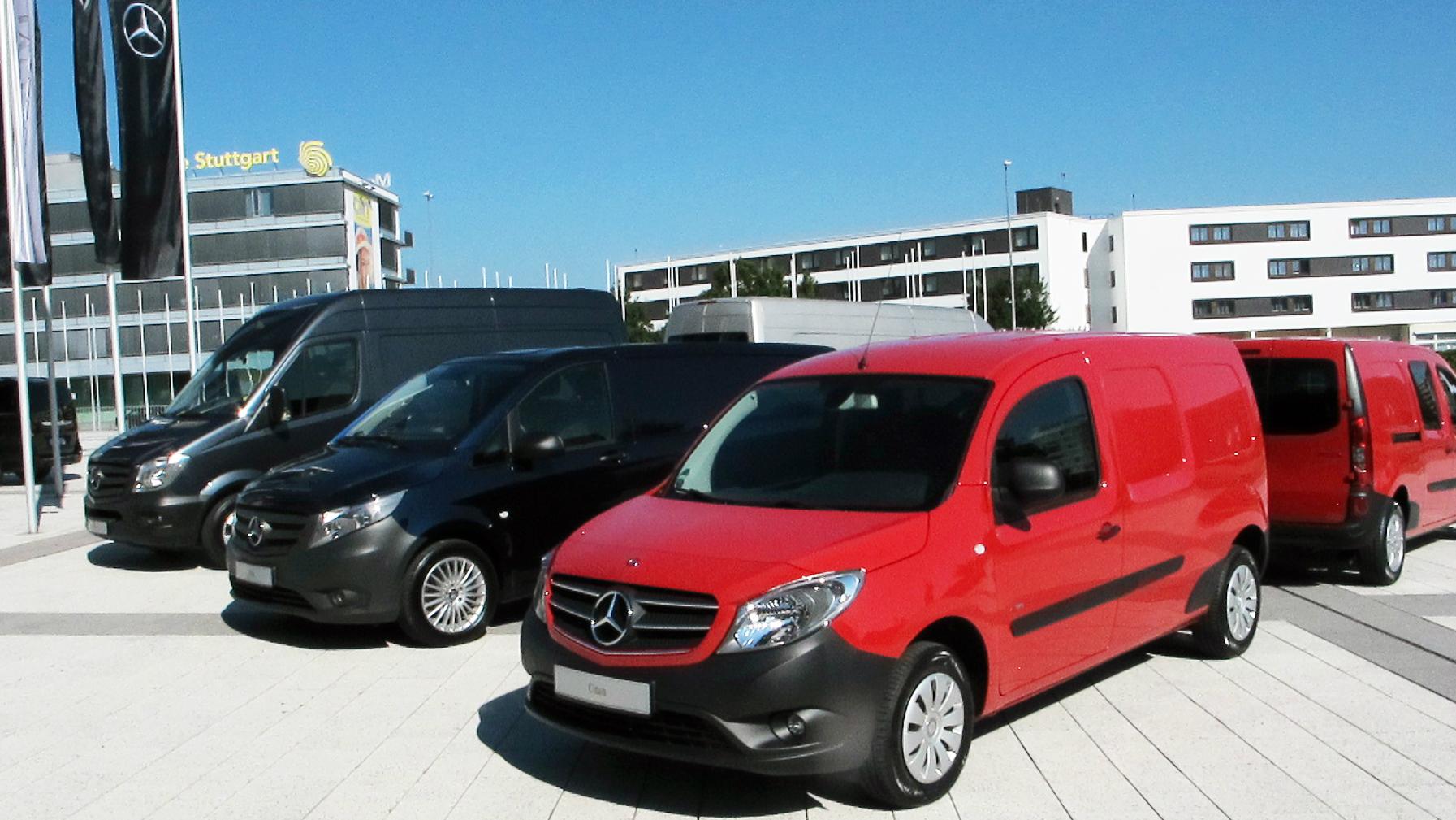 Mercedes Van campue fleet