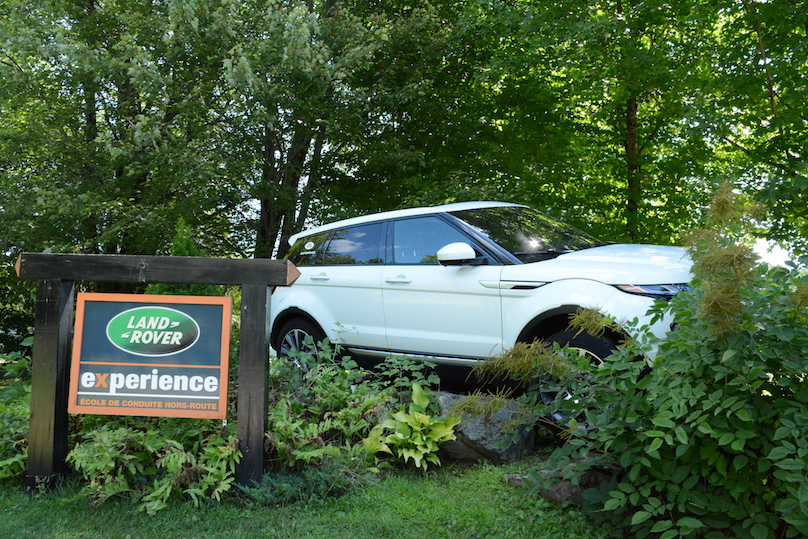 Land Rover Experience Centres Driving Way Off Road At The
