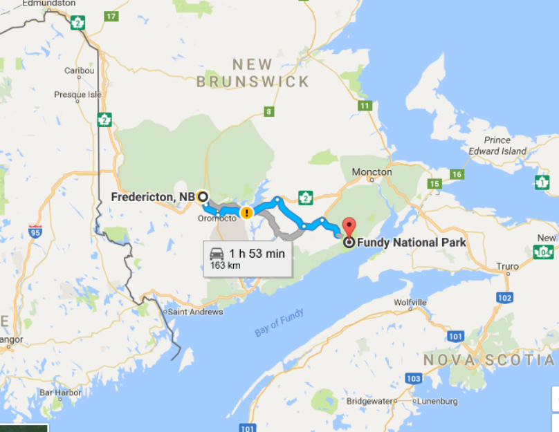 A Road Trip Through New Brunswick Fundy National Park WHEELSca