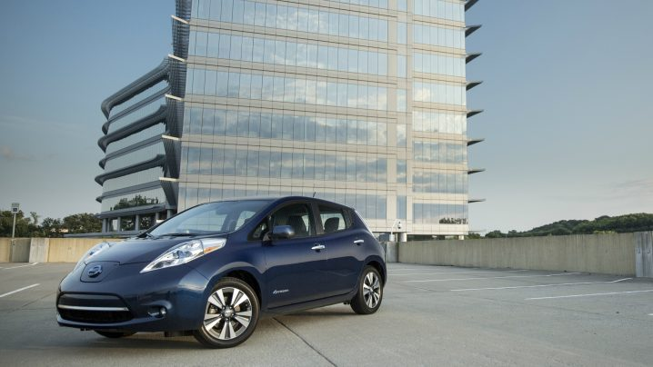 Nissan electric milestone