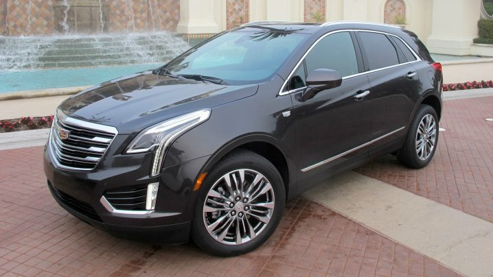 Cadillac XT5 safety