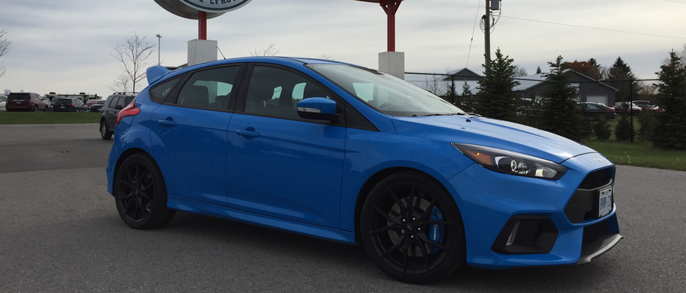 ford focus rs testfest