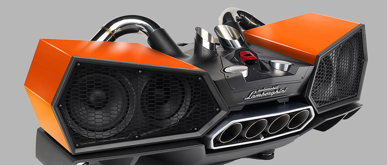 Lamborghini speakers