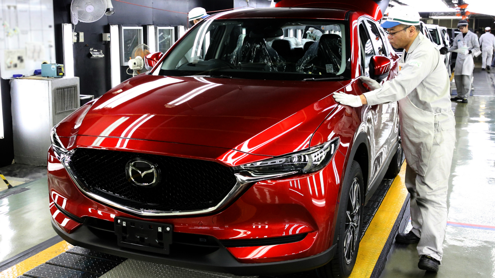 Japan mazda-cx5-production