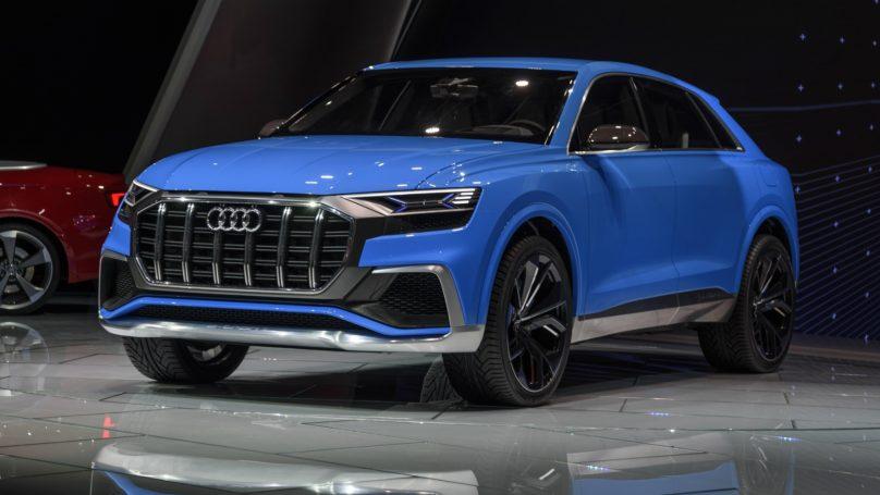 Audi Q8 Concept At Detroit Wheels Ca