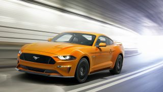 Ford Mustang sleeker