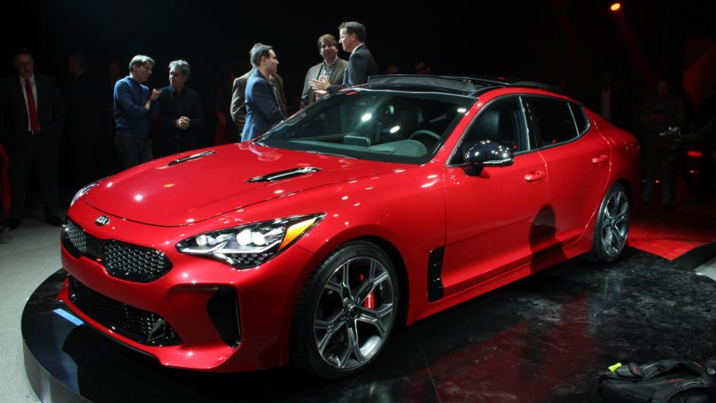Kia Stinger GT leaked ahead of Detroit debut