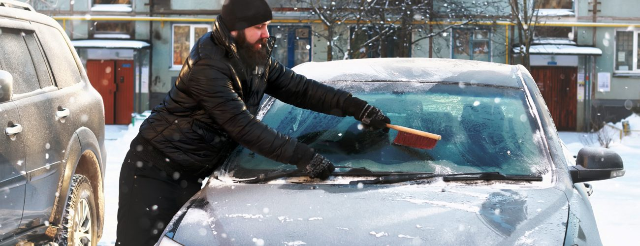 warming up your car