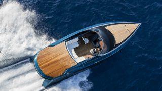 Aston powerboat debut
