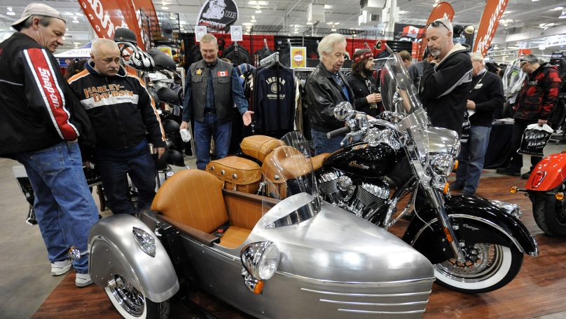 The 27th annual Toronto Motorcycle Springshow 2017