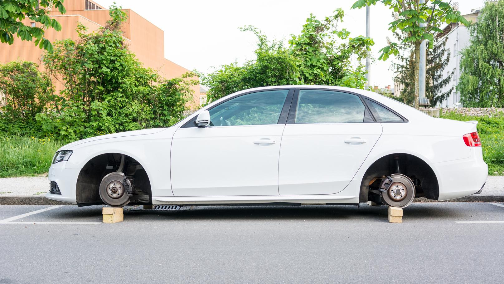 wheel theft