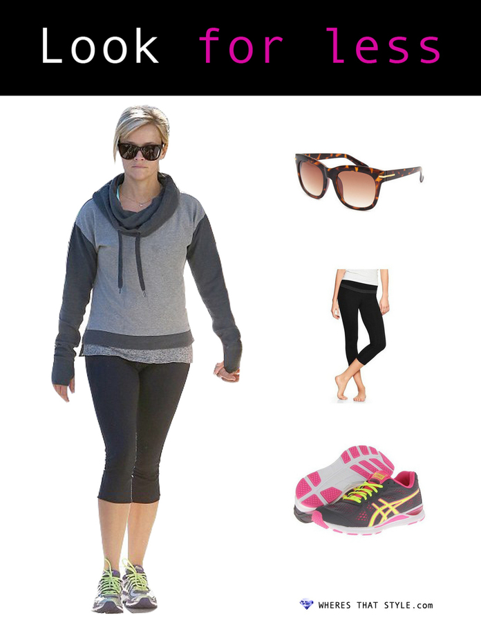 Reese witherspoon wearing full tilt avery sunglasses