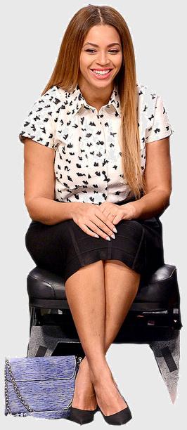 Beyonce cutout