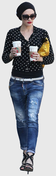 Gwen stefani cutout677