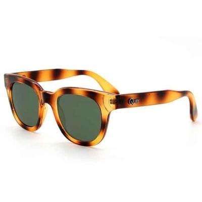 Quay eyeware wisdm sunglasses in tiger tortoise