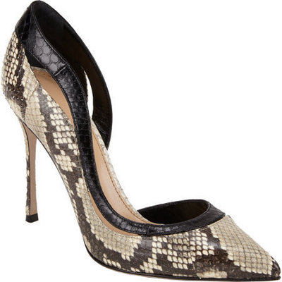Sergio rossi cutout pumps