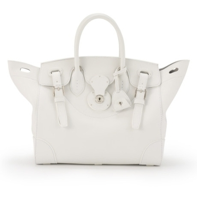 Ralph lauren ricky bag in white