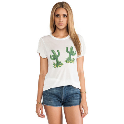 A fine line hello cactus hastings tee