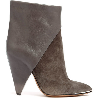 Iro daithy high ankle suede boots