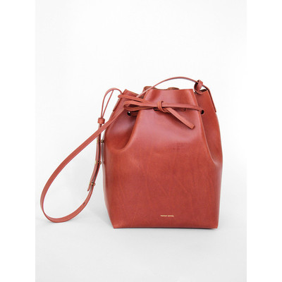 Mansur gavriel bucket bag brandy