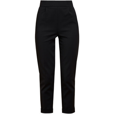 Osman high waisted stretch cotton trousers