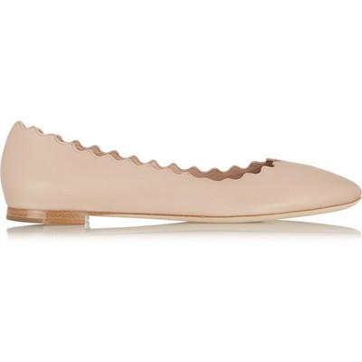 Chlo%c3%a9 lauren leather ballet flats
