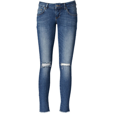 Anine bing ripped jeans in washed blue