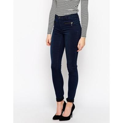 Vila cleavo 5 pocket twill skinny fit jeans