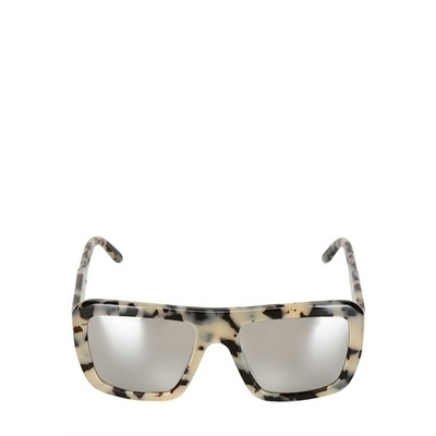 Stella mccartney squared acetate sunglasses