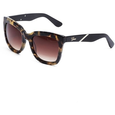 Guess julia square tortoiseshell sunglasses
