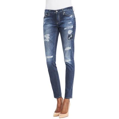 Ag adriano goldschmied digital stilt webber patch jeans