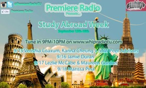 Premiere Radio-Study Abroad Week