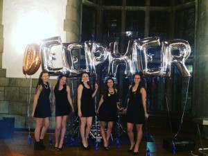 """Temple's chapter of Delta Phi Epsilon hosts an event every year to raise money for the Cystic Fibrosis Foundation. The sorority organizes and plans the """"Deepher Dude"""" competition, which incorporates students from various organizations. (Photo by: Toni Sichel)"""