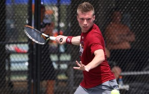 Temple's Men's Tennis Team's own Nicolas Paulus has been named Underarmour's Athlete of the Week. (Photo credit OwlSports.com)