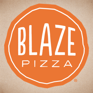 Blaze Pizza offers students the option of choosing one of their signature pies or building their own. (Photo credit: Blaze Pizza's Twitter page)