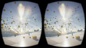 An example of the virtual reality viewing experience. (Photo credit: Wikipedia)