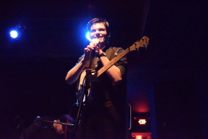 Vincent Yarnell of the band Rivers (Photo by Erin Blewett)