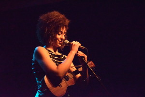 Vessna Scheff captivated her audience with her sweet presence and equally gentle demeanor. (Photo by Erin Blewett)