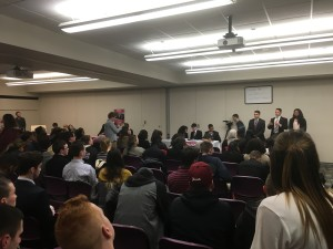 For the first time since 2010, more than two tickets are runing for Temple Student Government for the 2016-2017 academic year. (Photo credit: Nathan Weaver)