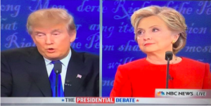 Donald Trump and Hillary Clinton squared off in the first presidential debate on September 26, 2016 (Photo: Ryan Goodwin)