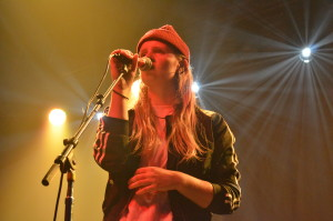 Toronto native Charlotte Day Wilson opens the October 19th show (Photo: Emily Tobin)