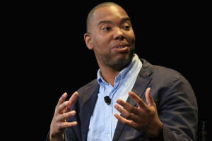 "Ta-Nehisi Coates presented his discussion, ""A Deeper Black: Race in America,"" at the Liacouras Center on Wednesday, October 26. (Photo: Taylor Allen)"