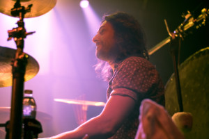 The Joy Formidable adds a grungier feel to the night (Photo: Erin Blewett)