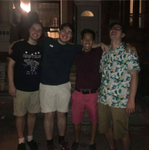 Onett is an emo band on the rise in the city of Philadelphia. (Photo: Jasjit Kaur)