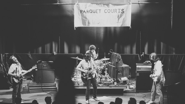 Parquet Courts rocked Philly's Union Transfer, the first stop on the band's 13-day tour. (Photo: Jeremy Zimmerman, WXPN)
