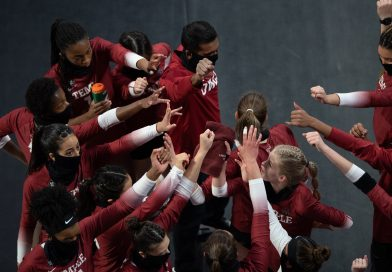 TEMPLE COMES BACK FROM TWO SETS TO ZERO TO BEAT USF