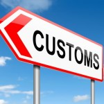 Customs policies are created by your government.